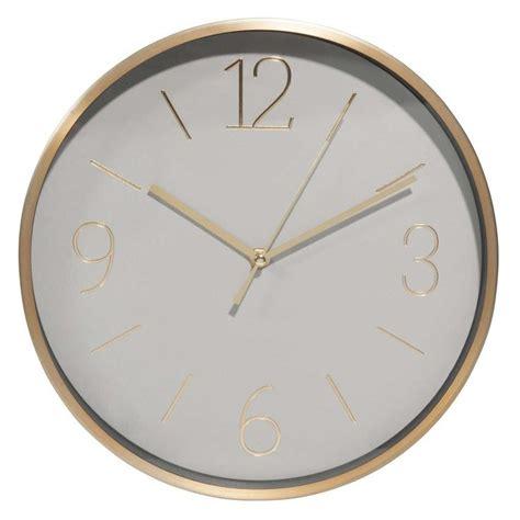 Horloge Rouage Maison Du Monde by Excellent Horloge En Mtal Gris Et Dor Ma With Horloge