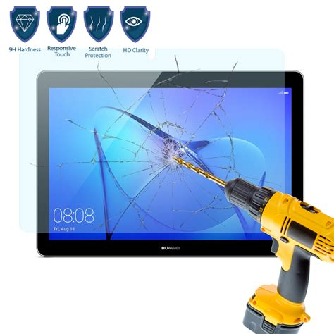 Cameron Tempered Glass Huawei Gr 3 Clear tempered glass screen protector cover for tablet huawei mediapad t3 10 inch ebay