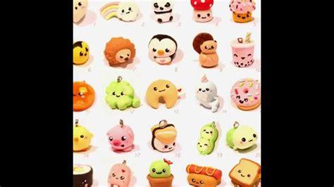 imagenes de figuras kawaii mis figuras de porcelana fria kawaii youtube