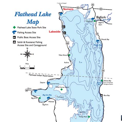 lakes in montana map flathead lake montana map afputra