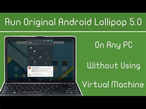 run android on pc run android 5 1 lollipop l on pc windows without using machine app playithub