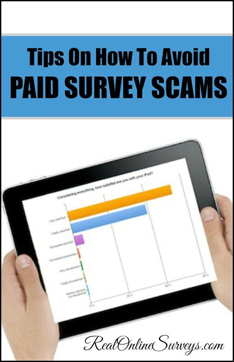 Make Money Scamming People Online - tips on how to avoid paid survey scams