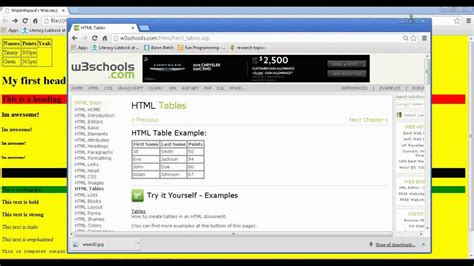 design html website using notepad how to make your own simple website using notepad part
