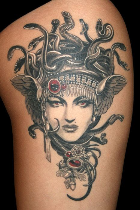 madusa tattoo medusa by nataliaborgia on deviantart