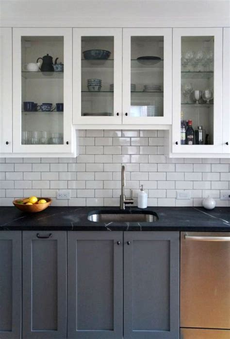 gray cabinets with black countertops remodelaholic decorating with black 13 ways to use