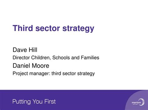 Mba Strategy Management For Third Sector by Ppt Third Sector Strategy Powerpoint Presentation Id