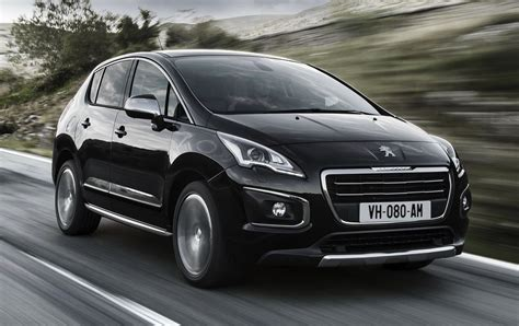 peugeot 3008 price peugeot 3008 facelifted for 2014 photos 1 of 11