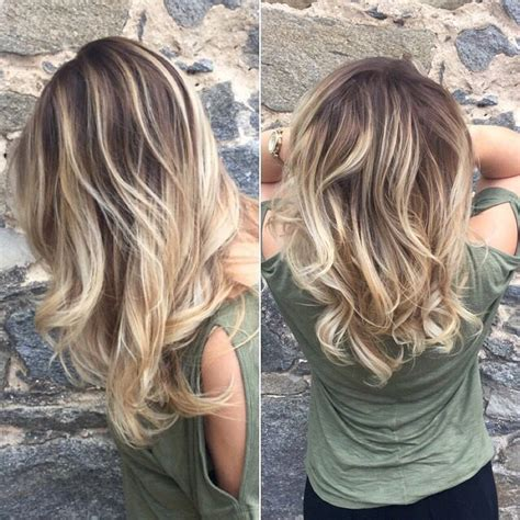balayage hair color technique ombre refresher using the balayage technique stylist