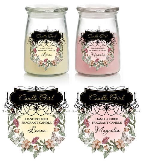 Candle Labels Template Candle Label Templates