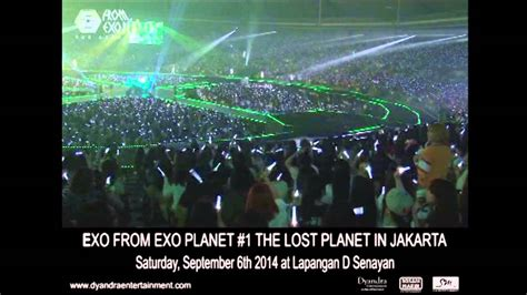 exo in jakarta exo greeting the lost planet in jakarta youtube