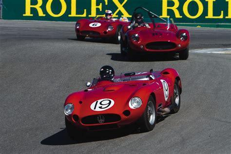 maserati rolex rolex reunion soars vintage road racecar