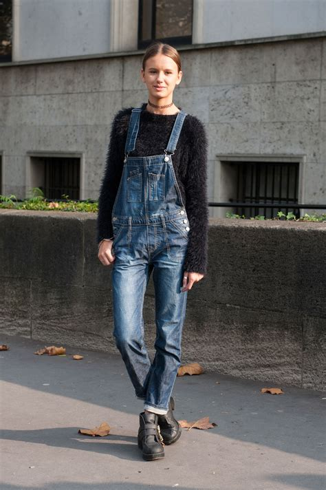 Overall Style chic style from fashion week stylecaster