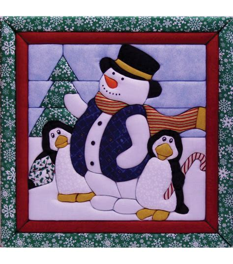 winter quilt magic kit 12 quot x12 quot jo