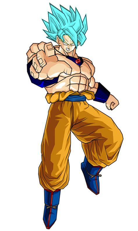 Pajangan Goku Saiyan 2 goku rlssj by antomase on deviantart