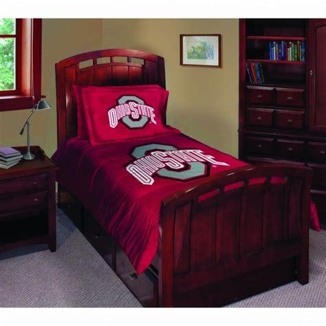 ohio state bedroom decor ohio state buckeyes ncaa college twin comforter set 63 quot x 86 quot