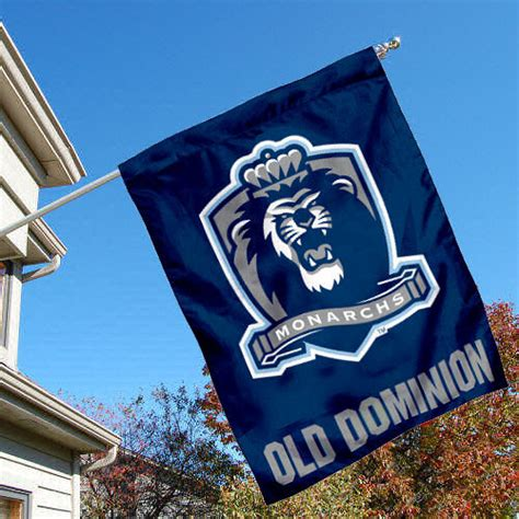 dominion house odu old dominion monarchs odu university college house flag ebay