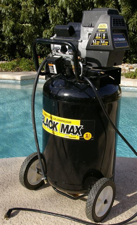 coleman powermate 27 gallon 5 hp 5 6 cfm air compressor ebay