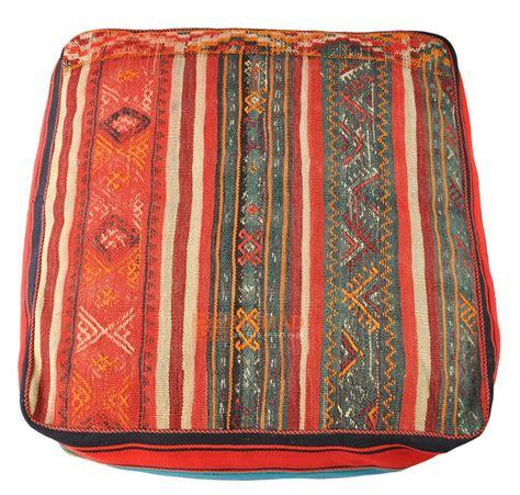 pouf floor cushion kilim pouf floor cushion pillow 80 x 80 x 30 cm nomad