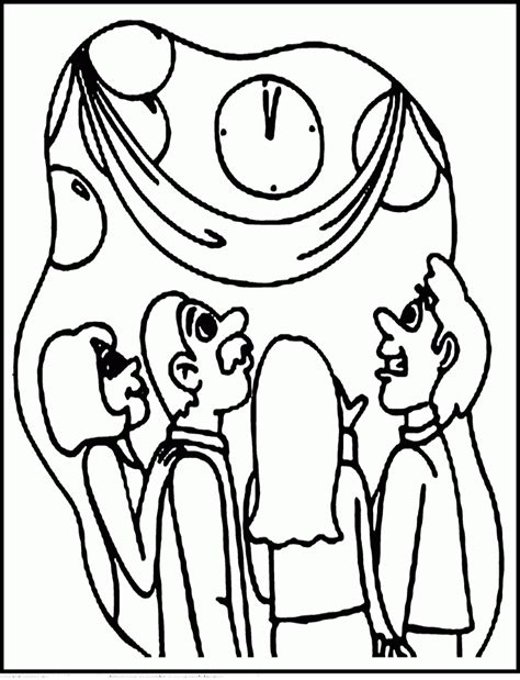 new year pictures to colour in new years coloring pages coloring home