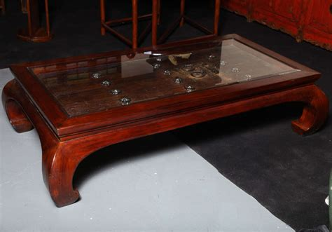coffee table fashioned from antique 19th century door at