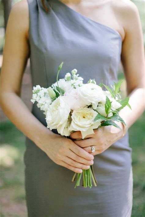 Bridesmaid Bouquet by White Bridesmaids Bouquet