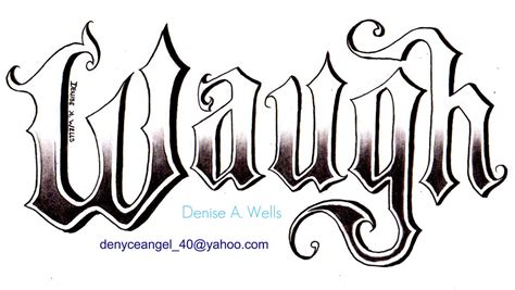 tattoo lettering old english old english tattoo design by denise a wells a fren c j