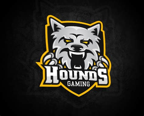 gaming logo template logo for hounds gaming by myesportdesign on deviantart