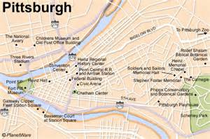 Pittsburgh Map Usa by Maps September 2009