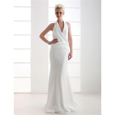 Wedding Dress Flo sheath column plus sizes wedding dress ivory flo by
