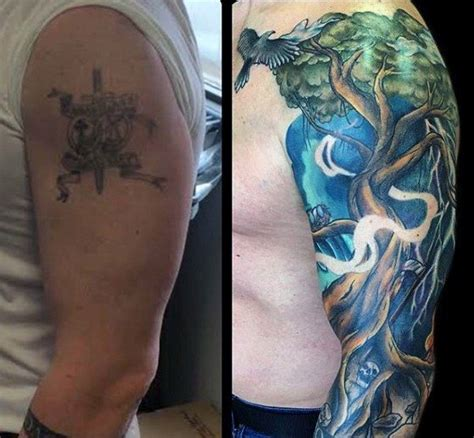 quarter sleeve tattoo cover up mens half sleeve tattoo cover up clipart library