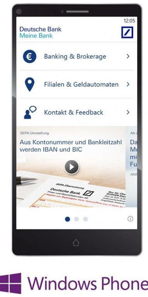 deutsche bank app für samsung update jetzt verf 252 gbar deutsche bank app f 252 r windows