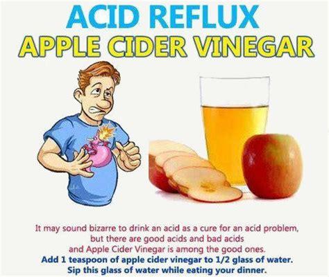 acid reflux apple cider vinegar home remedy for acid reflux