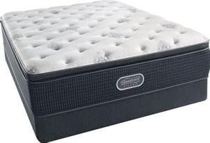 beautyrest recharge silver offshore mist pillow top plush