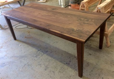 black walnut table top black walnut contemporary farmhouse table ks woodcraft