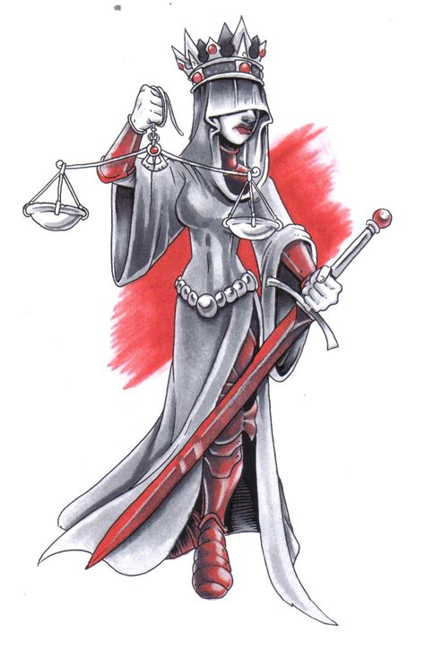 lady justice tattoo design justice images designs