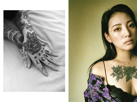 best tattoo shops in korea inside the underground subculture of female korean tattoo