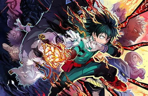 my hero academia 2 841669351x top 10 des raisons de regarder my hero academia boku no hero academia daily moogle