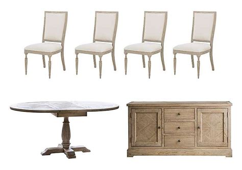 sideboard dining table riviera extending dining table 4 side chairs and