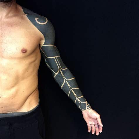 black work tattoos blackwork sleeve tattoos