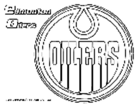 hockey coloring pages oilers delco phantoms kids corner