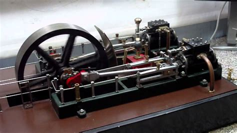 stuart twin victoria live steam engine at ataf club tessin twin cylinder mill steam engine youtube