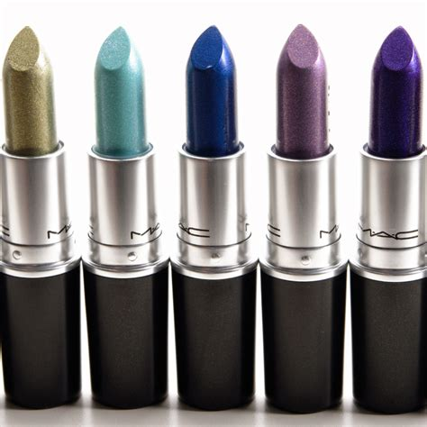 Mac Blue Collection by Mac No Interruptions Soft Hint Designer Blue Lipsticks