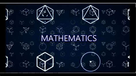 The Mathematics Of introduction to mathematics