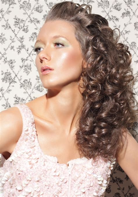 simple  easy hairstyles  natural curly hair  xerxes