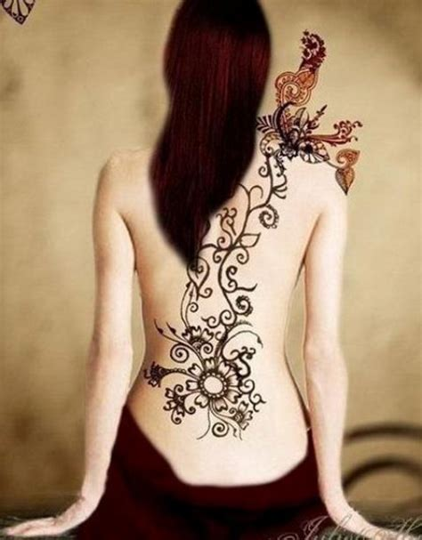 tattoo henna on back best henna tattoos for back bold and beautiful designs