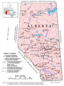map of canada alberta alberta political map