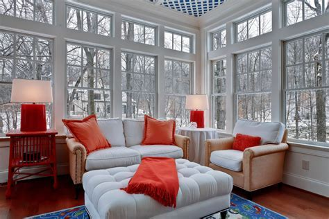 sun porch furniture Porch Traditional with accessory