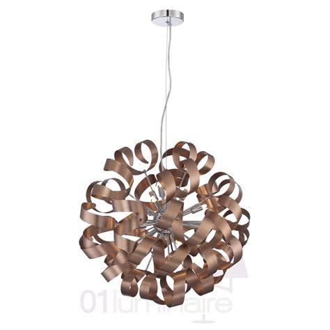lustre cuivre lustre flox cuivre 216 60cm suspension luminaire market set