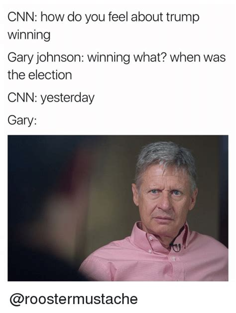 Gary Johnson Memes - funny trump memes of 2017 on sizzle 9gag