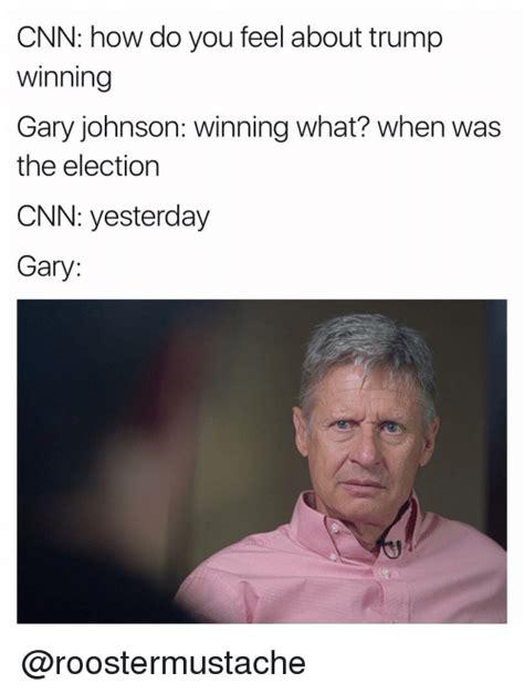 Gary Johnson Memes - funny trump memes of 2017 on sizzle 9gag